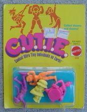 C.U.T.I.E. Figures from Mattel