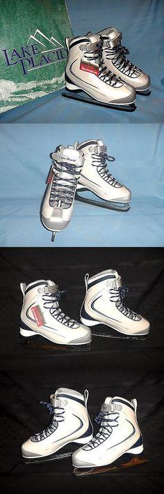 Ice Hockey-Youth 26342: Lake Placid Supreme #694 Ice Skates Hockey Pro Figure Sz: Womens 6 - New W Tags -> BUY IT NOW ONLY: $32.95 on eBay!