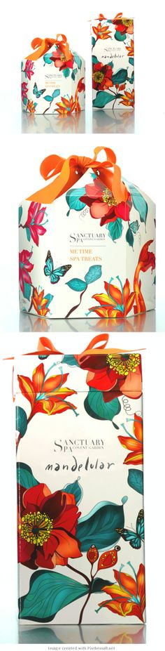 Here's a better look at the very popular Sanctuary Spa #packaging