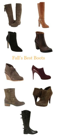 Fall's Best Boots & Booties