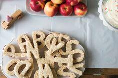 Alphabet Sandwiches!  Alphabet Party. Kids Party. Party Ideas. Party Food. ABC party. ABC lover.