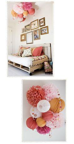 girls bedroom inspiration