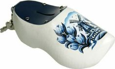 Spaarpotklompjes 14 cm - Delftsblauw Tulp