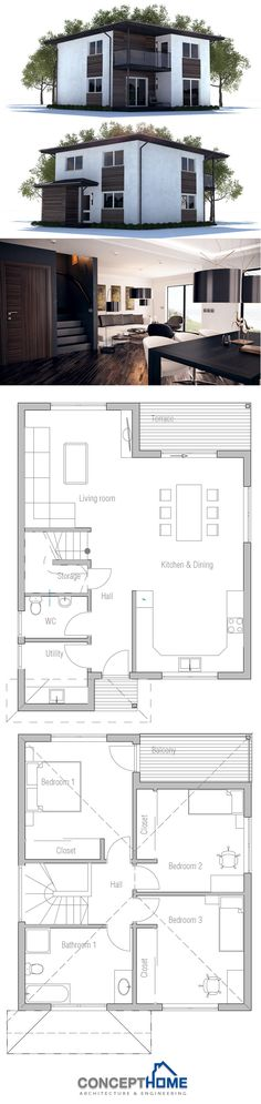 Small House Plan CH237