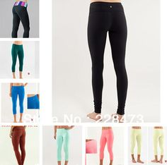 Wholesale retail New designer brand LULULEMON pants Cheap Yoga lulu lemon clothing Size 2 4 6 8 10 12 black lulu lemon pants-in Pants & Capris from Apparel & Accessories on Aliexpress.com