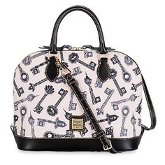 Dooney & Bourke - Disney Princess ''Keys'' Zip Zip Satchel
