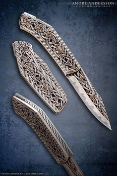 Broken back Seax folder | André Andersson Custom Knives #survivalknife