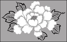 floral Stencils | Stencils from our Fruit and Flower stencil range