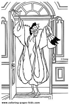 101 dalmations coloring page disney coloring pages color disney sheet coloring pages pinterest disney colors and dalmatians