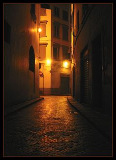 Lost in the night ~ Florence, Italy