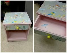 HJERTEHJORT: Ennå et nattbord til barnerom!