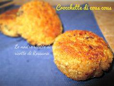 Crocchette di cous cous, ricetta #vegana