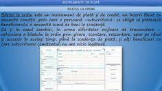 Profu`economist: BILETUL LA ORDIN Periodic Table, School, Periodic Table Chart, Schools