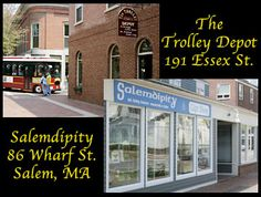 The Trolley Depot: Those of you who have been in our store (downtown Salem, Ma.) know what an eclectic place we have; Where else would you find Wizard of Oz and Harry Potter items, Halloween collectibles (including Jim Shore), and cute stuffed toys? Along with books on Salem's History and Modern Day Witchcraft, jewelry, the best souvenirs and tee-shirts in the Witch City, and an ever-expanding selection of gifts, we've been the place to shop since 1991.