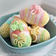 With a Grateful Prayer and a Thankful Heart: Crochet Easter Eggs & Tutorial Video is Coming