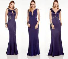 Vestido de festa azul: 15 modelos para madrinhas e formandas! - Madrinhas de casamento