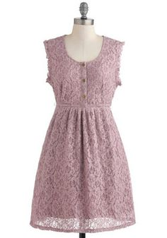 Orchid I Join You? Dress, #ModCloth Nice vintage country theme bridesmaid dress