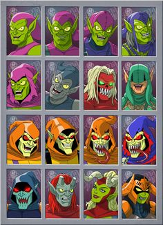 goblin 1 by stalnososkoviy Marvel Villains, Marvel Heroes, Marvel Characters, Marvel Comic Universe, Marvel Dc Comics, Green Goblin, Marvel Drawings, Spider Verse, Amazing Spiderman