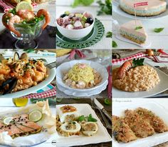 Fish Eve menu, lots of ideas for dinner- Menù della Vigilia a base di pesce, tante idee per il cenone With the collection of recipes for the eve menu, … - Dinner Menu, Dinner Recipes, Shellfish Recipes, Lobster Tails, Fish And Chips, Antipasto, I Love Food, Finger Foods, Pasta Salad