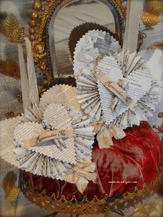 Cherub Paper Hearts by Nicol Sayre Doll Shoppe