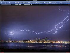 Seattle 2013 Summer Storm.