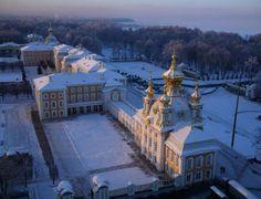 PETERHOF PALACE COMPLEX, ST. PETERSBURG, RUSSIA