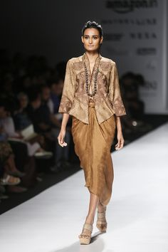 Novita Yunus at Amazon India Fashion Week autumn/winter 2017