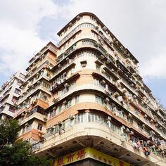 こちらは大好物のカド丸ビルin香港 #hi_trip #ひとりっぷ#一人旅#香港#アガる香港#月刊香港パトロール#深水埗  #travel#hongkong#shamshuipo by hi_trip