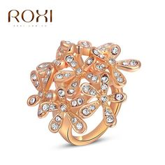 Cheap christmas gift quotes, Buy Quality gift bag christmas directly from China christmas gift bag ideas Suppliers:   ROXI exquisite platinum plated blue plum blossom rings,