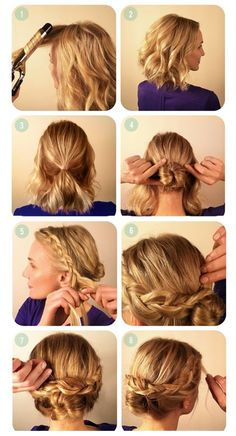 Hairstyles yourself instructions to make long hair pictures best 8 cute short hairstyles for everyday wear solutioingenieria Images