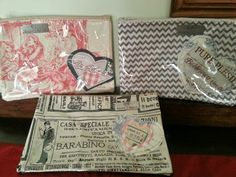 """Cosmetic bags from """"heart2heart"""""""