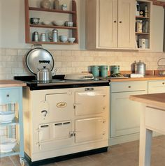 The Traditional AGA cooker, manufactured from cast iron and ready to cook whenever you are. Visit AGA living and enquire today! Aga Oven, Oven Range, Aga Kitchen, Kitchen Decor, Kitchen Ideas, Kitchen Inspiration, Kitchen Ranges, Kitchen Pics, Kitchen Planning