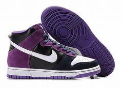 b6c3eb2e6c1 purple   black Nike Dunk SB High Shoes 114 Michael Jordan Shoes