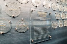 Create a polished and professional display of your donors or company awards on your company wall or lobby with GlassArt Design experts.
