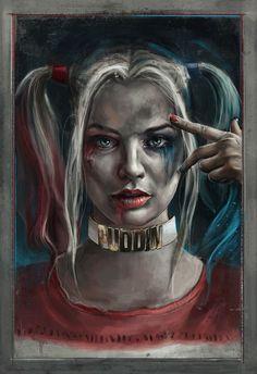 """Harley Quinn"" by Robert Bruno"
