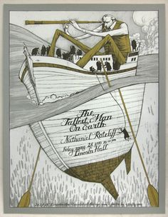 tallest man on earth - concert poster