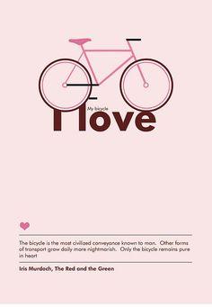 Bicicleta lover ♥, via Flickr. Bicycle lover: