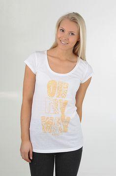 Kaksitvå Miss OMW t-paita Nude Print 19,90 € www.dropinmarket.com