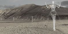 Power Line Pylon Project in Iceland