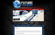 WEB DESIGN >> Future Traders (Nelspruit) created by Design so Fine