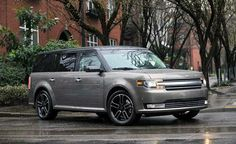 View 2013 Ford Flex Limited AWD EcoBoost Photos from Car and Driver. Find high-resolution car images in our photo-gallery archive. Ford Flex, My Dream Car, Dream Cars, Ford 2000, Automotive Solutions, Wheels For Sale, Suv Cars, Car Images, Car And Driver