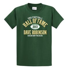 Dave Robinson Class of 2013 Tee. Click to order! - $19.99