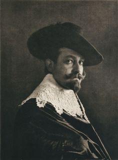 Die Kunst in der Photographie : 1901 Photographer: Jean Tyszkiewicz Title: Porträt-Studie