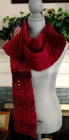 crochet handmade Vstitch long fashion scarf by JDCrochetCreations  https://www.etsy.com/listing/170801403/crochet-handmade-v-stitch-long-fashion?ref=shop_home_active_13