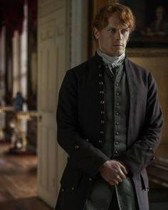 New #Outlander S3 still with #SamHeughan as #JamieFraser . Via FarFarAway . #outlanderStarz #outlanderseason3 #OutlanderSeries