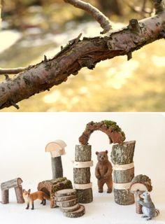 Waldorf-Inspired Nature Blocks