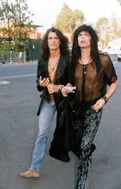 The Toxic Twins - Joe Perry and Steven Tyler