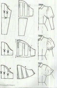 All Things Sewing and Pattern Making Sewing Hacks, Sewing Tutorials, Sewing Crafts, Sewing Projects, Techniques Couture, Sewing Techniques, Pattern Cutting, Pattern Making, Dress Sewing Patterns