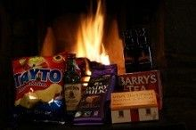 Night By the Fire This is one of our new gift boxes on offer.  We also have a lovely Valentine gift box for him and her check them out www.cardscomplete.ie