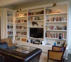 Modern Storage Cabinet Built Ins 23 Super Ideas Living Room Bookcase, Living Room Cabinets, Home Living Room, Living Room Designs, Living Room Decor, Tv Cabinets, Kitchen Living, Home Interior, Interior Design